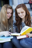 Happy teen students Stock Photography