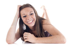 Happy teen Royalty Free Stock Photo