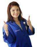 Happy Teen Volunteer Royalty Free Stock Photos