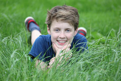 Happy teen Stock Images