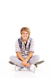 Happy teenage boy Stock Image