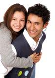 Happy teenage couple Royalty Free Stock Photography
