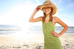 Happy teenage girl. Stock Image