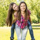 Happy teenage girl Stock Image