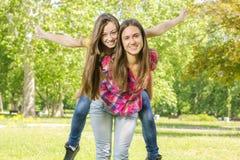 Happy teenage girl Royalty Free Stock Images