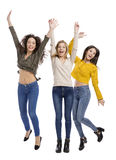 Happy teenage girl Stock Images