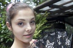 Happy Teenage Girl Royalty Free Stock Image