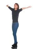 Happy teenage girl Royalty Free Stock Photos