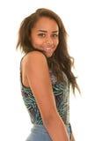 Happy teenage girl Royalty Free Stock Photography