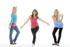 Happy Teenage Girls Royalty Free Stock Photos
