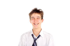 Happy teenager Royalty Free Stock Image