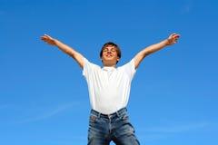 Happy teenager Royalty Free Stock Image