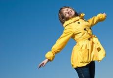 Happy teenager royalty free stock photo