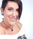 Happy teenager girl Stock Image