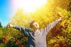 Happy Teenager outdoor Stock Image
