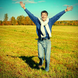 Happy Teenager outdoor Stock Photography