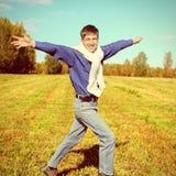 Happy Teenager outdoor Royalty Free Stock Photos