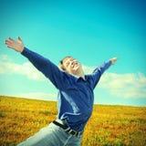 Happy Teenager outdoor Stock Photo