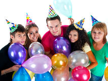 Happy teenagers Royalty Free Stock Image