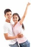 Happy teenagers Stock Photos