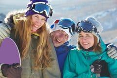 Happy teens royalty free stock photography