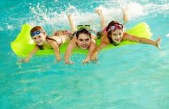 Happy teens Stock Images