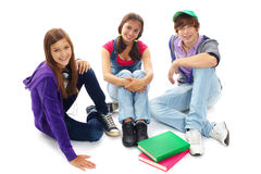 Happy teens Stock Image