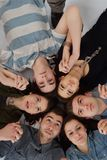 Happy teens group Stock Photography