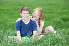 Happy teens Royalty Free Stock Photos