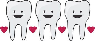 Happy Teeth Stock Photography