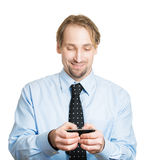Happy texts Stock Photography
