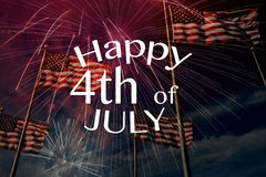Happy 4th of Jly Royalty Free Stock Photo