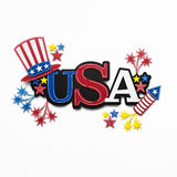 Happy 4th of July. Royalty Free Stock Images