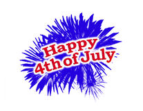 Happy 4th of July Graphic Logo. Ireland flag un grunge style texture and vivid saturated colors vector illustration