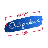 Happy 4th of July - Independence Day card or background. America Royalty Free Stock Image