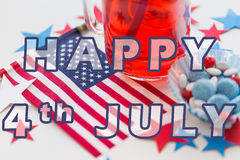 Happy 4th of july, independence day concept Royalty Free Stock Images