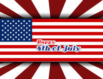 Happy 4th July independence day Royalty Free Stock Photo