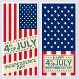 Happy 4th of july, Independence day greeting card, flyer. Independence day greeting card, flyer. Independence day poster. Patriotic banner for website template Royalty Free Stock Photo