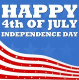 Happy 4th Of July Independence day Royalty Free Stock Photo