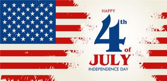 Happy 4th of July - Independence Day of United States of America Stock Images