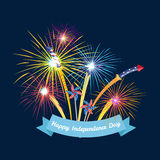 Happy 4th of July, Independence Day Vector Design, usa. Illustration Royalty Free Stock Photos