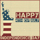 Happy 4th of July. Independence Day. Vector illustration Stock Image