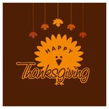 Happy Thanks giving day design vector. This Vector EPS 10 illustration is best for print media, web design, application design user interface and infographics stock illustration