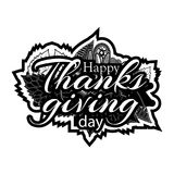 Happy thanks giving day symbol for flyer, poster, banner, web header. Abstract background. EPS file available. see more images related stock illustration