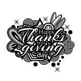 Happy thanks giving day symbol for flyer, poster, banner, web header. EPS file available. see more images related vector illustration