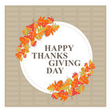 Happy thanks giving day /thank you Stock Photography