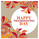 Happy thanks giving day /thank you Royalty Free Stock Photo