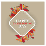 Happy thanks giving day /thank you Royalty Free Stock Photos