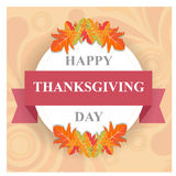 Happy thanks giving day /thank you Royalty Free Stock Images