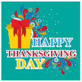 Happy thanks giving day /thank you Royalty Free Stock Photography